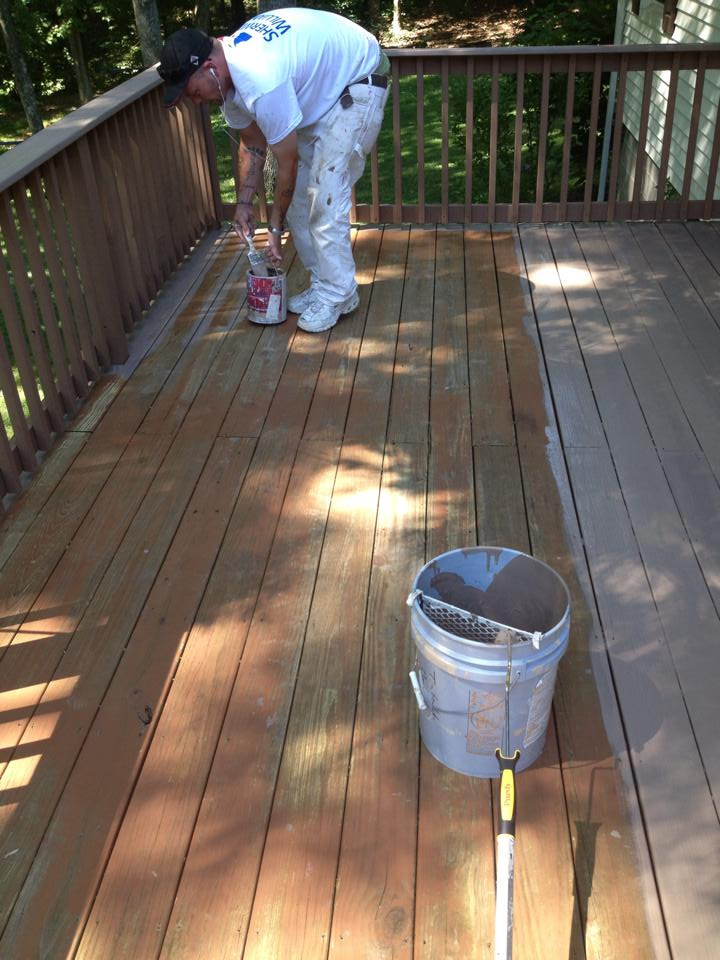 Deck Finish Application