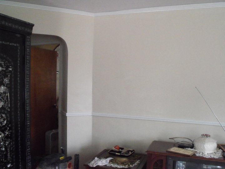 Wallpaper Removal - after
